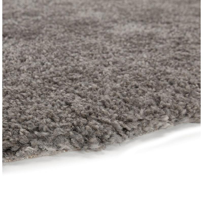 Tapis design rond (Ø 160 cm) SABRINA (gris foncé) - image 48572