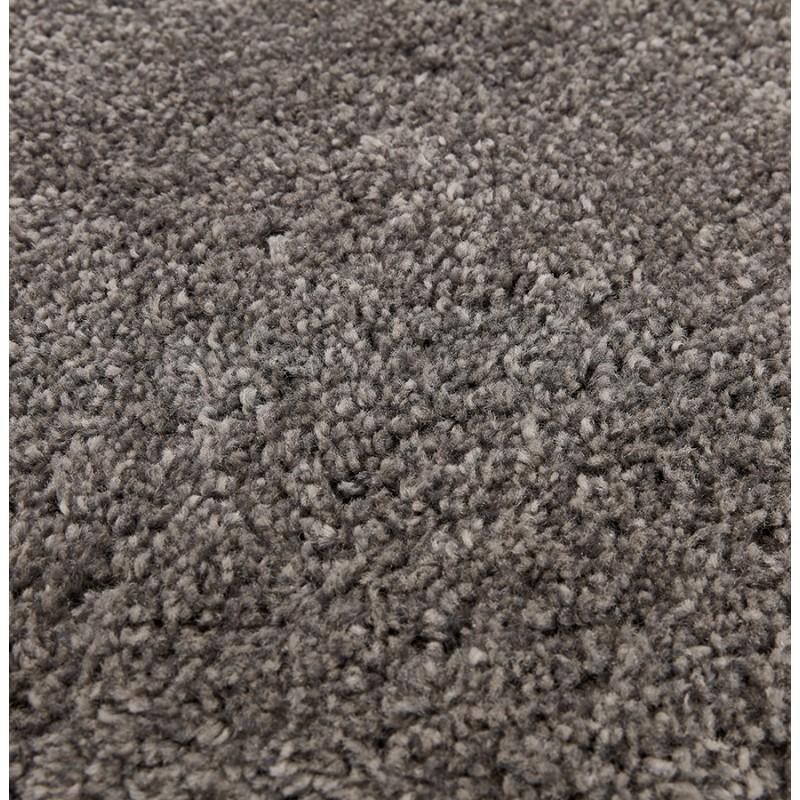 Tapis design rond (Ø 160 cm) SABRINA (gris foncé) - image 48573