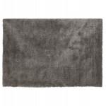 Alfombra de diseño rectangular - 160x230 cm SABRINA (gris oscuro)