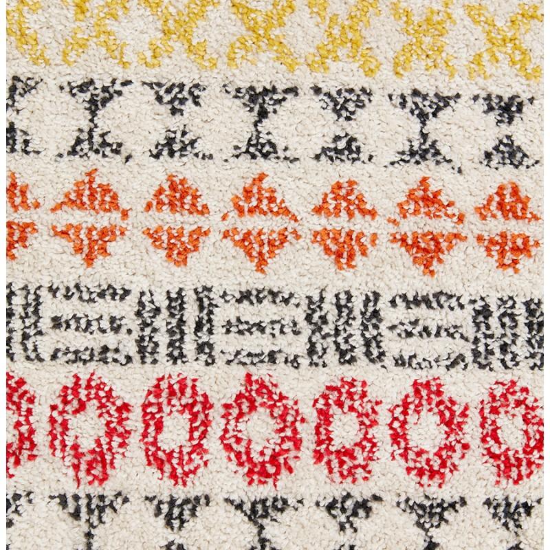 Tapis graphique rectangulaire - 160x230 cm - SELINA (multicolore) - image 48639