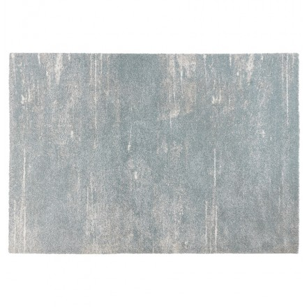 Tapis design rectangulaire - 160x230 cm - SHERINE (bleu ciel)