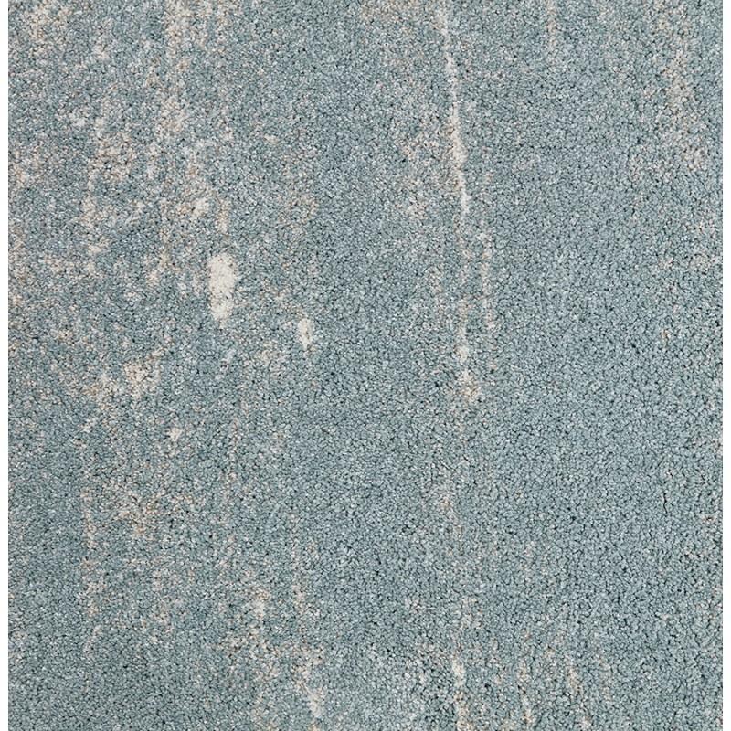 Tapis design rectangulaire - 160x230 cm - SHERINE (bleu ciel) - image 48651