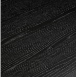 Mesa de comedor de diseño o escritorio de madera (180x90 cm) ZUMBA (negro)