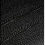 Table à manger design ou bureau en bois (180x90 cm) ZUMBA (noir)