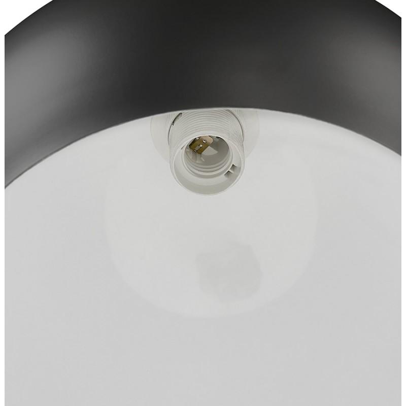 Lámpara de arco de diseño de metal SWEET (negro mate) - image 49317