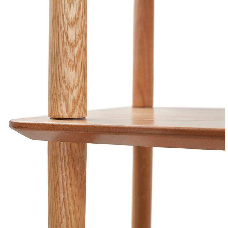 Diseño de biblioteca ampliada estilo escandinavo en roble ERIKA (natural) - image 49387