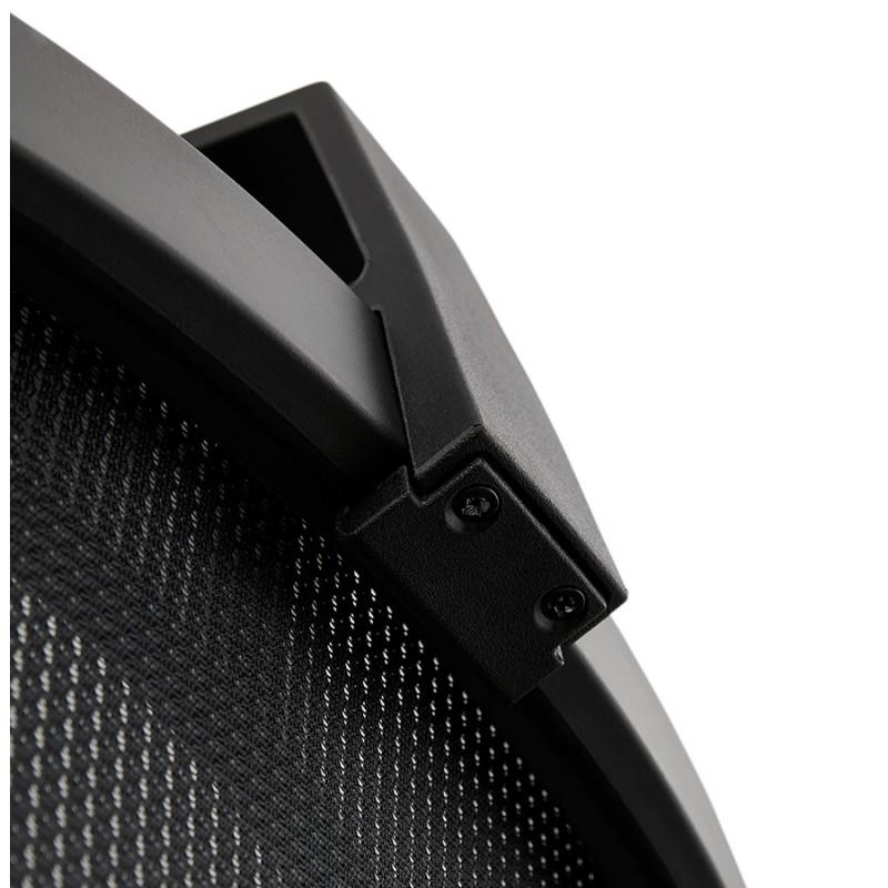 Fauteuil de bureau ergonomique en tissu KAORI (noir) - image 49438