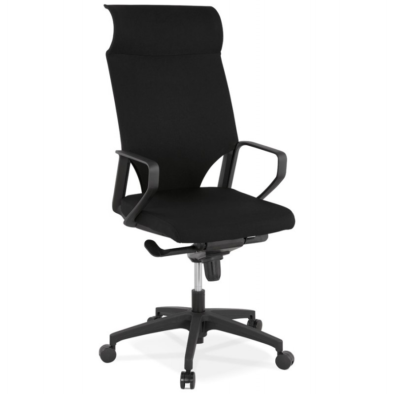 AYUMI fabric desk (black)