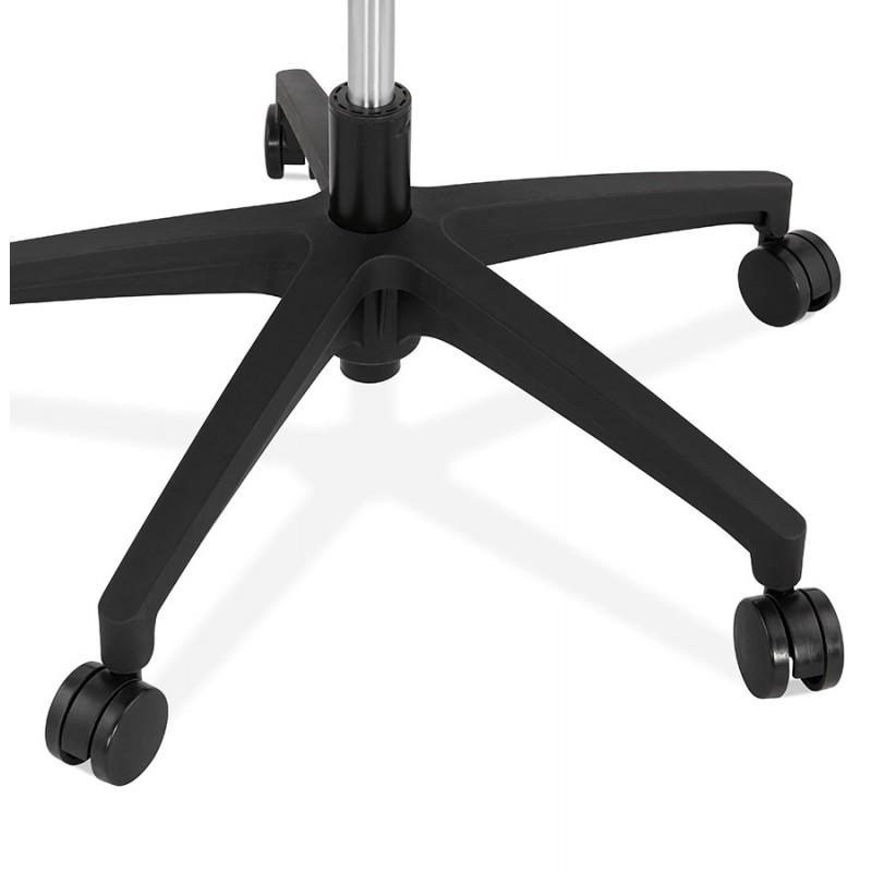 Fauteuil de bureau en tissu YOKO (noir) - image 49474