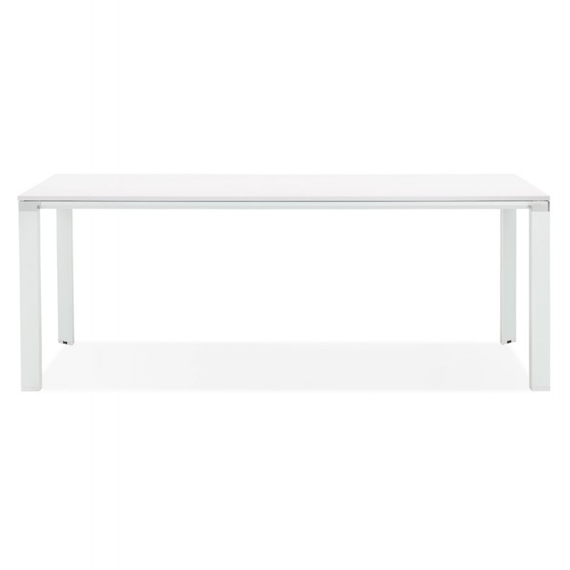 NORA wooden design meeting table (200x100 cm) (white) - image 49626
