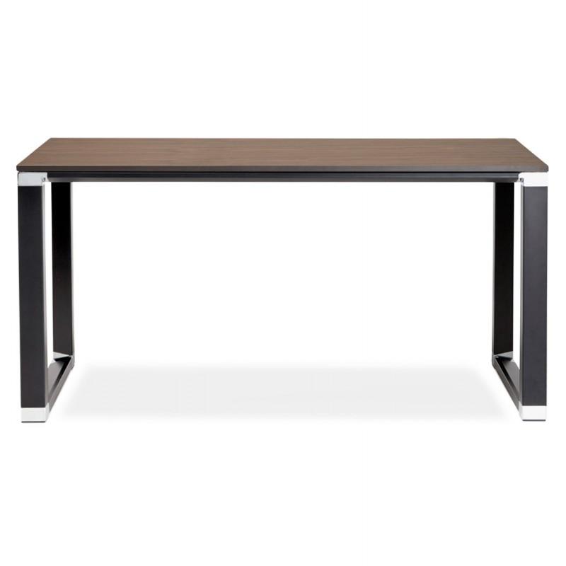 Derecha oficina diseño de pies negros de madera BOUNY (140x70 cm) (ahogo) - image 49740