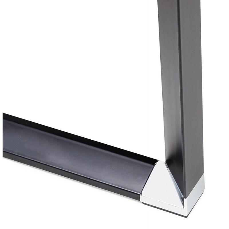 Derecha oficina diseño de pies negros de madera BOUNY (140x70 cm) (ahogo) - image 49743