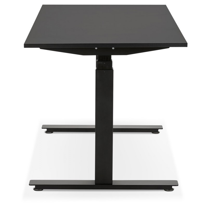 Seated standing electric wooden black feet KESSY (140x70 cm) (black) - image 49795