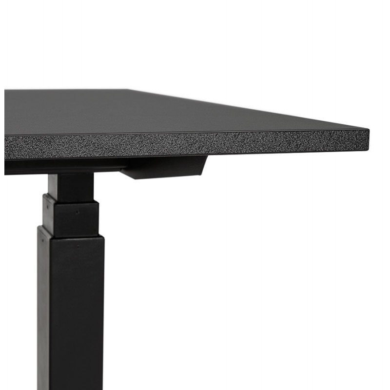 Stehn-Stehraum aus Holz schwarze Füße KESSY (160x80 cm) (schwarz) - image 49823