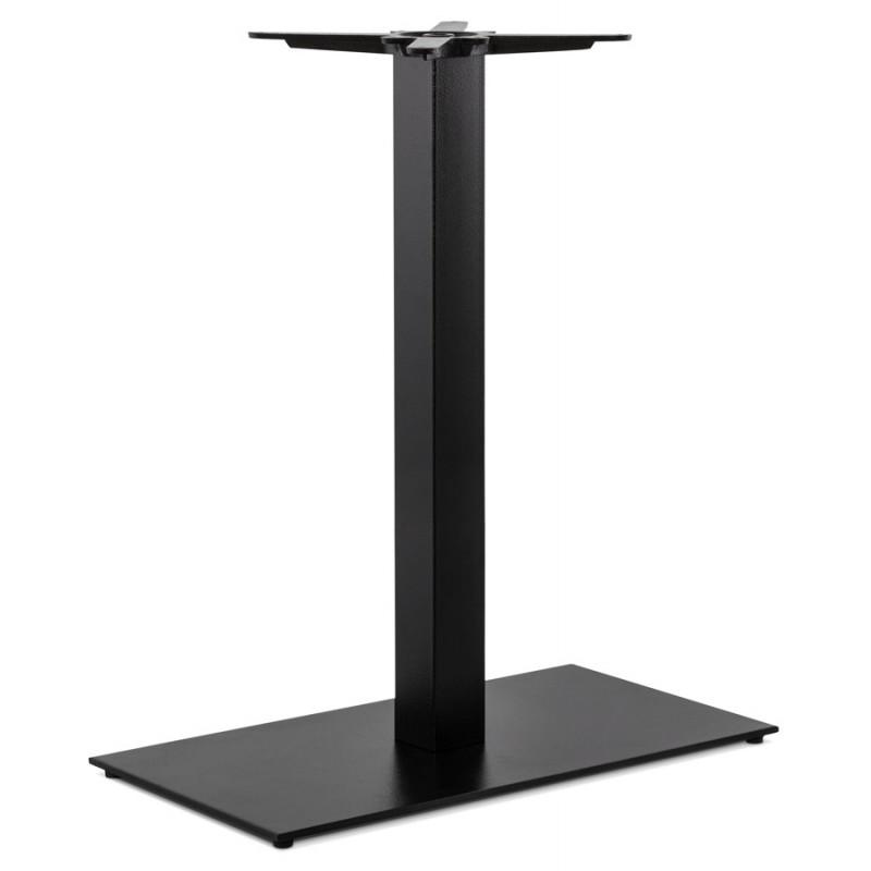 Rechteckiger Tischfuß aus Metall RAMBOU XL (75x40x88 cm) (schwarz)