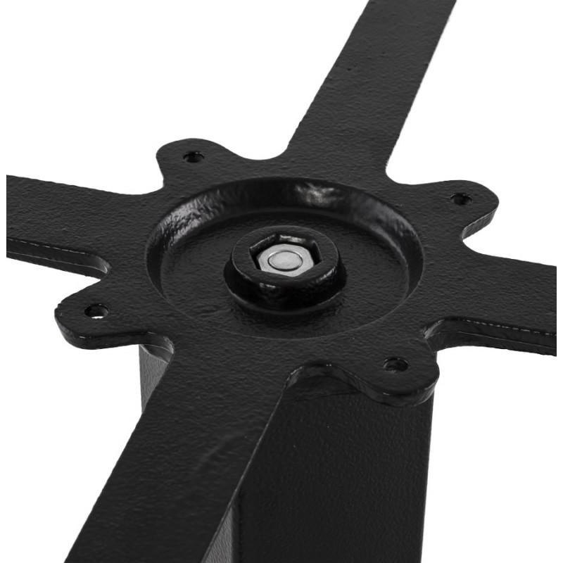 Pied de table rectangulaire en métal RAMBOU XL (75x40x88 cm) (noir) - image 49892