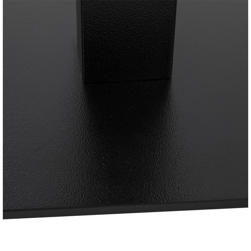 Pied de table rectangulaire en métal RAMBOU XL (75x40x88 cm) (noir) - image 49894