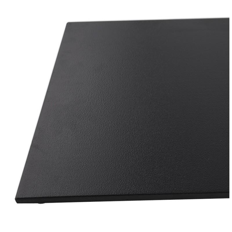 RamBOU XL rectangular metal table top (75x40x88 cm) (black) - image 49895
