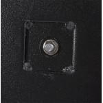 Pied de table rectangulaire en métal RAMBOU XL (75x40x88 cm) (noir)
