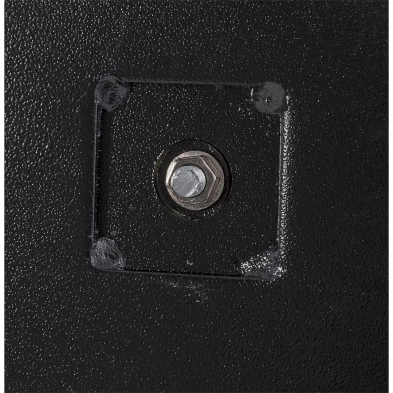 RamBOU XL rectangular metal table top (75x40x88 cm) (black) - image 49897