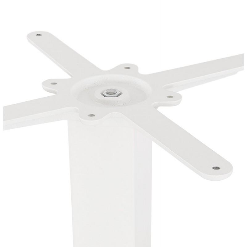 Mesa cuadrada de metal EMIE (50x50x73 cm) (blanco) - image 49917