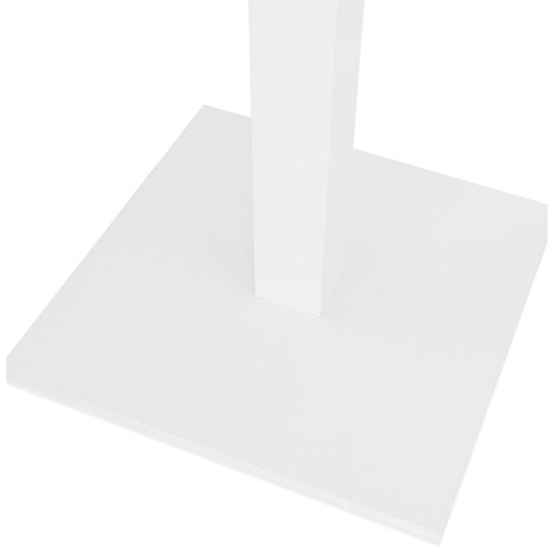 Mesa cuadrada de metal EMIE (50x50x73 cm) (blanco) - image 49919