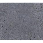 Diseño de pie de teca maciza OXANA (200 cm) (gris)