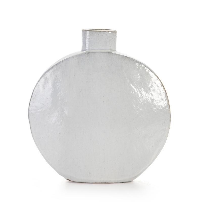 Pot 52x18x56 Grès Blanc
