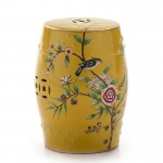 Sgabello 32X32X43 Ceramica Multicolore