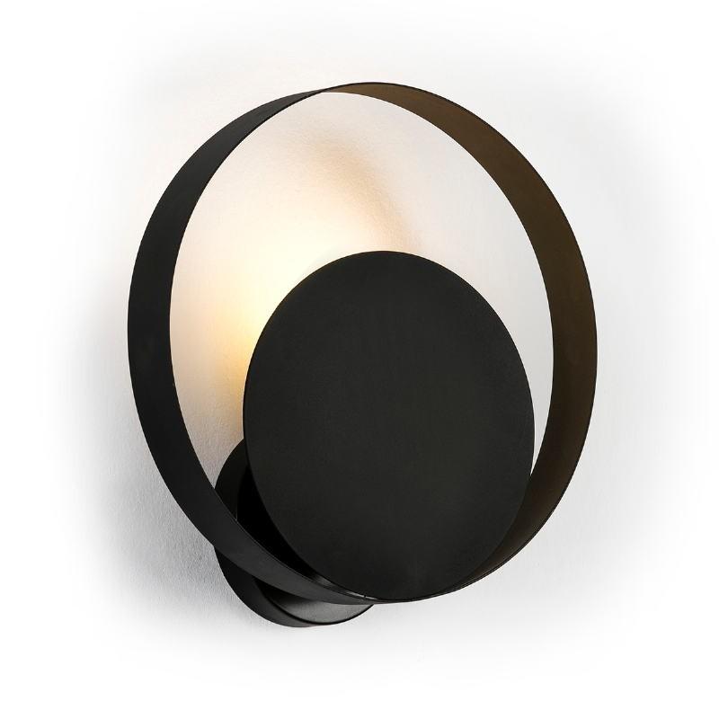 Wall Lamp 30X11X31 Metal Black