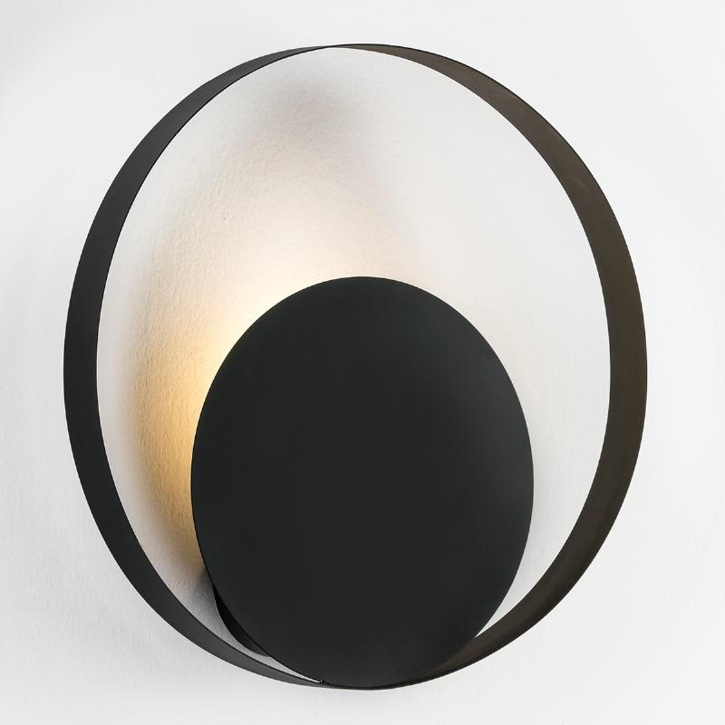 Wall Lamp 50X11X50 Metal Black