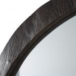Mirror 101X3X79 Glass Wood Brown