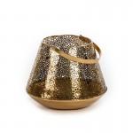 Kerzenhalter 28X28X22/34 Metall Golden