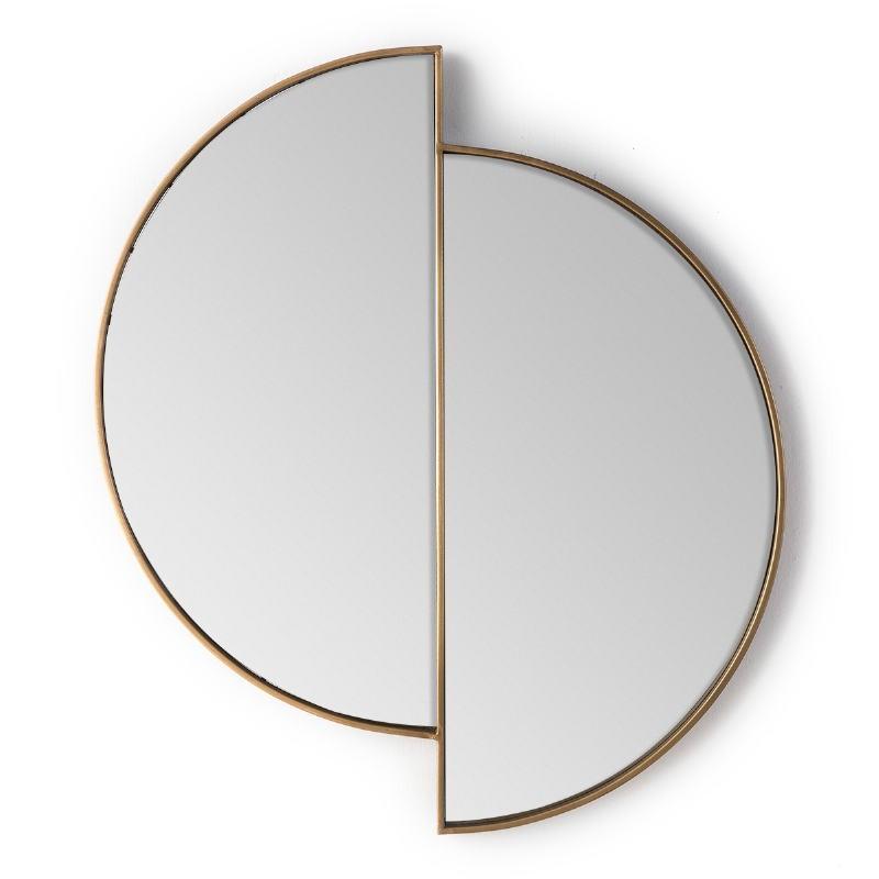 Espejo 73X3X80 Cristal Metal Dorado - image 51151