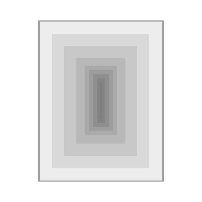 Frame 100X3X130 Methacrylate Grey