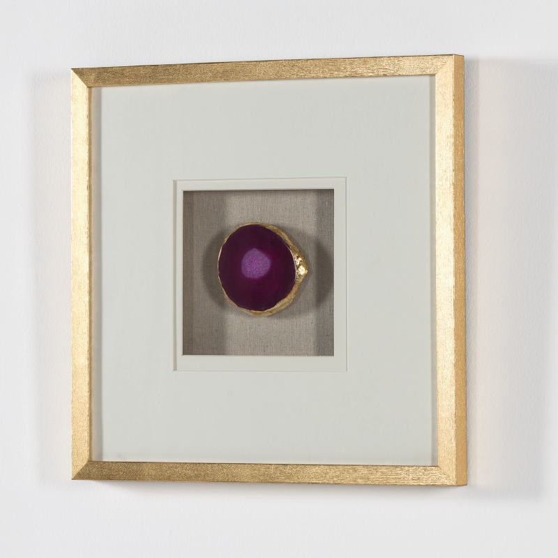 Frame 50X4X50 Wood Golden Agate Pink - image 51281