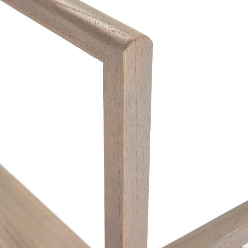 Kleiderständer / Hosenbügler 103X36X150 Holz Grau - image 51310