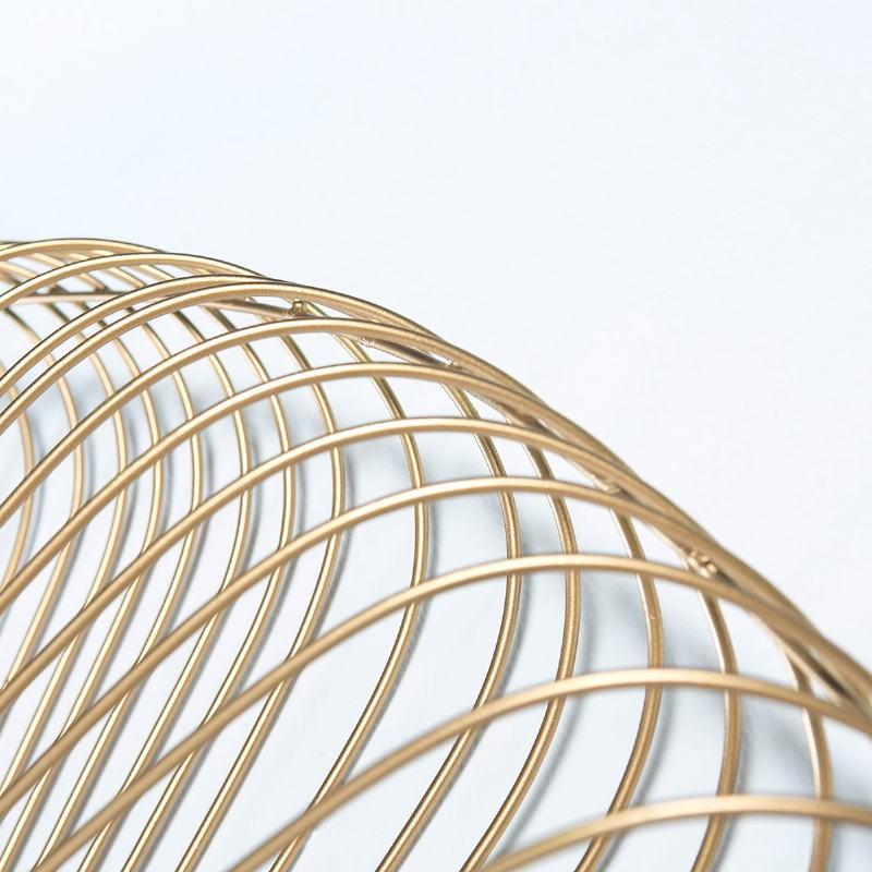 Miroir 112x10x112 Verre Métal Doré - image 51446