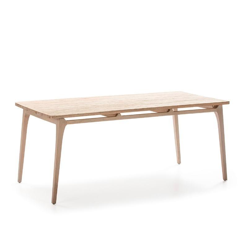 Table à Manger 180x90x76 Bois Gris
