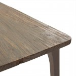 Esstisch 180X90X76 Holz Grau