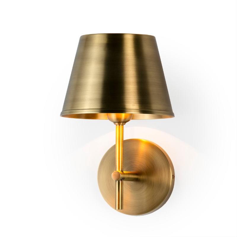 Wall Lamp 18X18X26 Metal Golden - image 51634