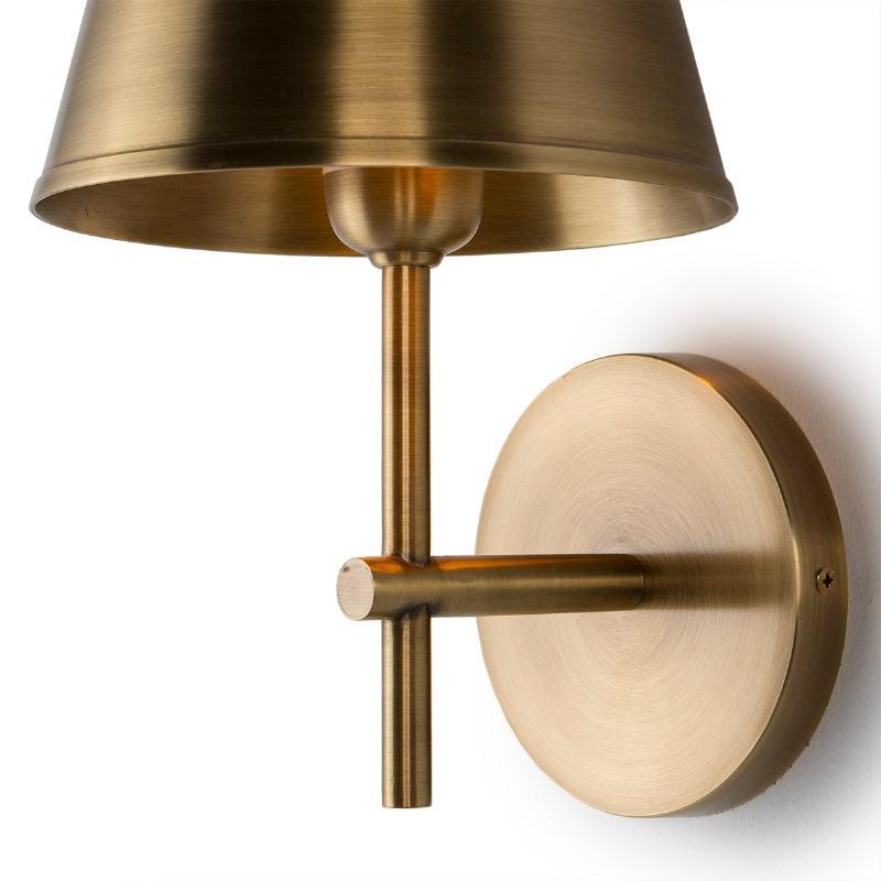 Wall Lamp 18X18X26 Metal Golden - image 51635