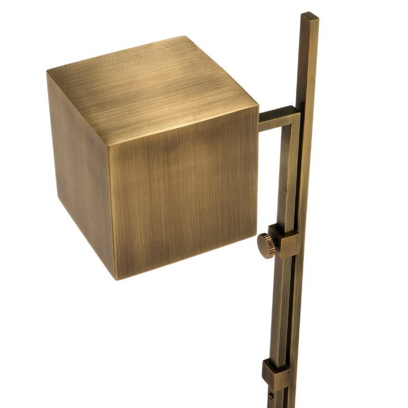 Lampada Da Tavolo 25X12X55 Metallo Dorato - image 51644