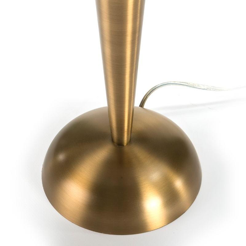 Lampe de Table 25x25x48 Métal Doré - image 51672