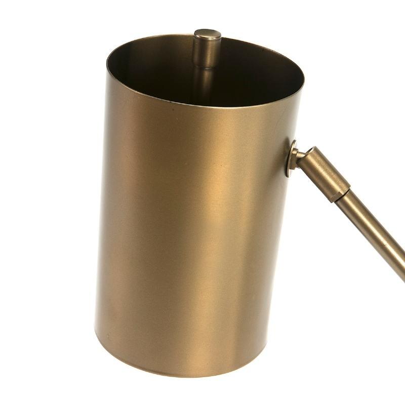 Lampada Da Tavolo 66X16X75 Marmo Bianco Metallo Dorato - image 51692