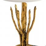 Table Lamp Without Lampshade 18X18X48 Metal Golden