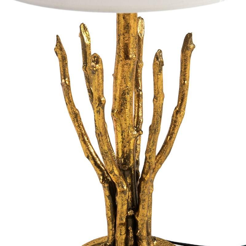 Lampe de Table sans abat-jour 18x18x48 Métal Doré - image 51709