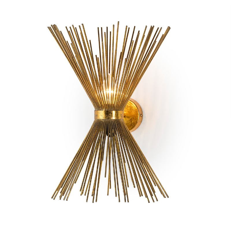 Wall Lamp 26X26X43 Metal Golden