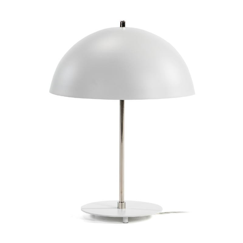Table Lamp 43X43X56 Metal White Nickel