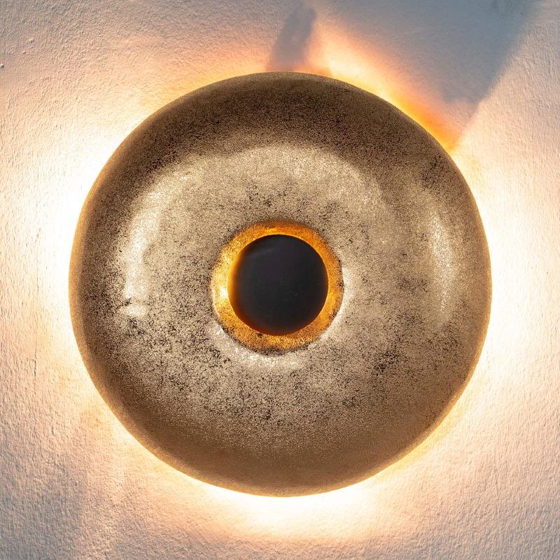 Wall Lamp 51X7X51 Metal Golden - image 51733